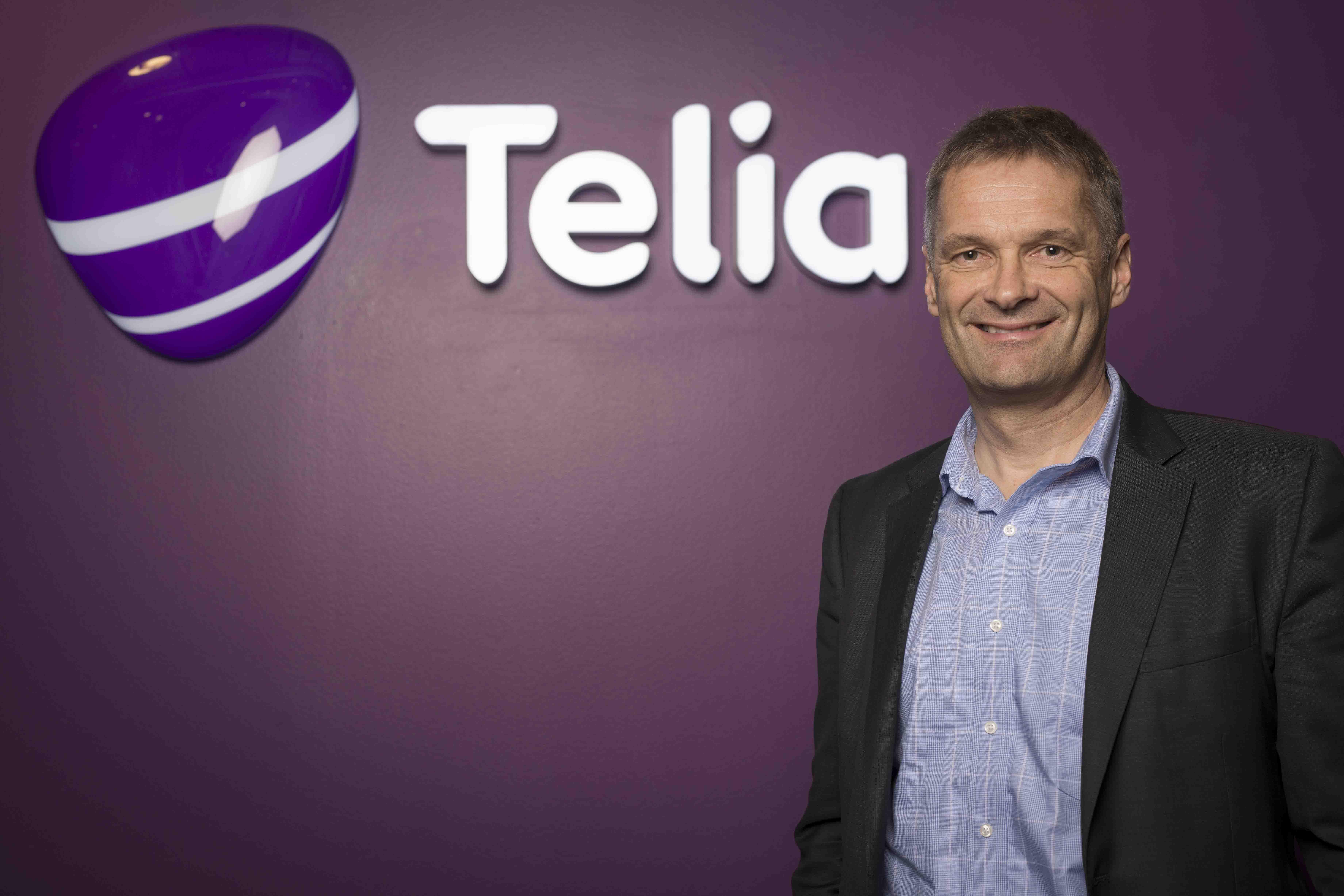 Abrahan Foss, CEO Telia Norway