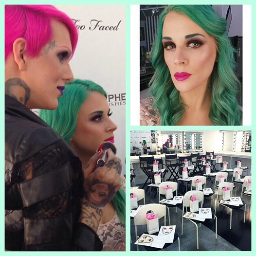 Jeffree Star transforming his model!