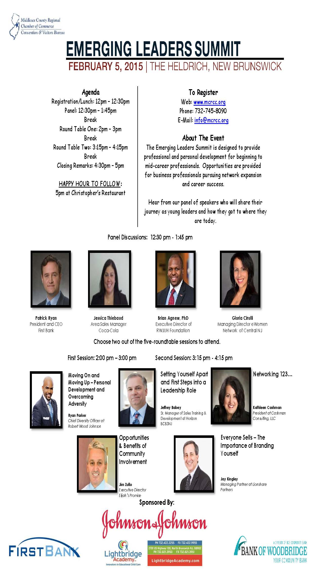 Emerging Leaders Summit on February 5th