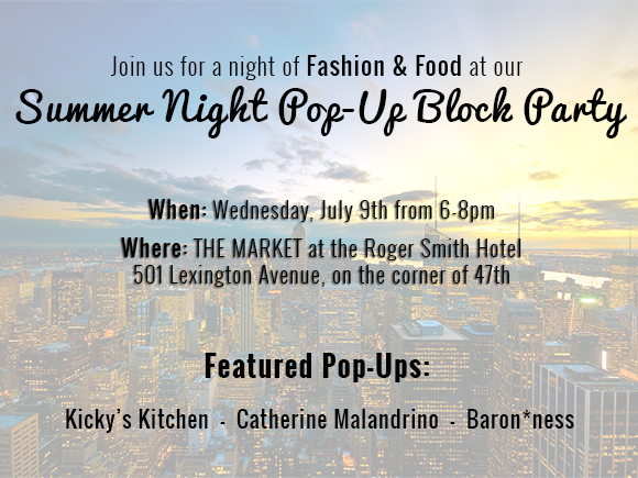 rs hotel summer pop-up blockparty