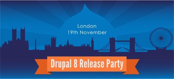 London Drupal 8 party