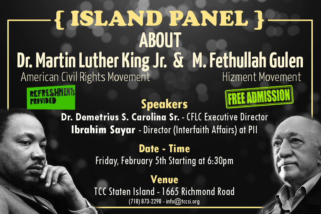 Panel about Martin Luther King and Fethullah Gulen