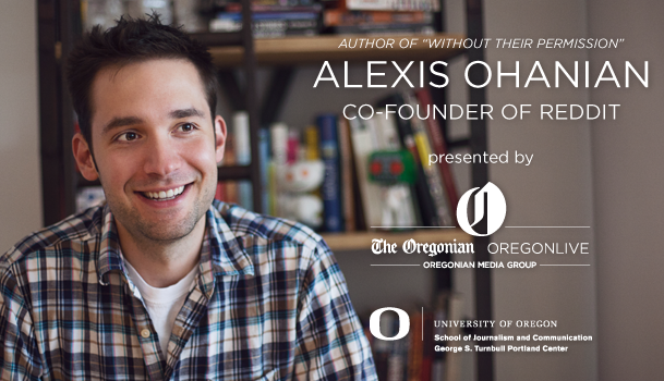 The Oregonian Alexis Ohanian Event