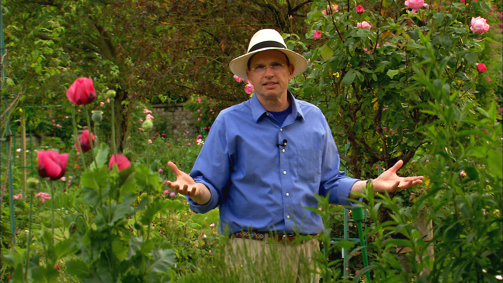 DD in Monet Garden