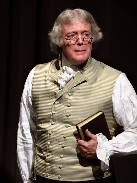 The Mecklenburg SAR welcomes Thomas Jefferson for President's Day Dinner 2018 on February 15 2018 in Charlotte.
