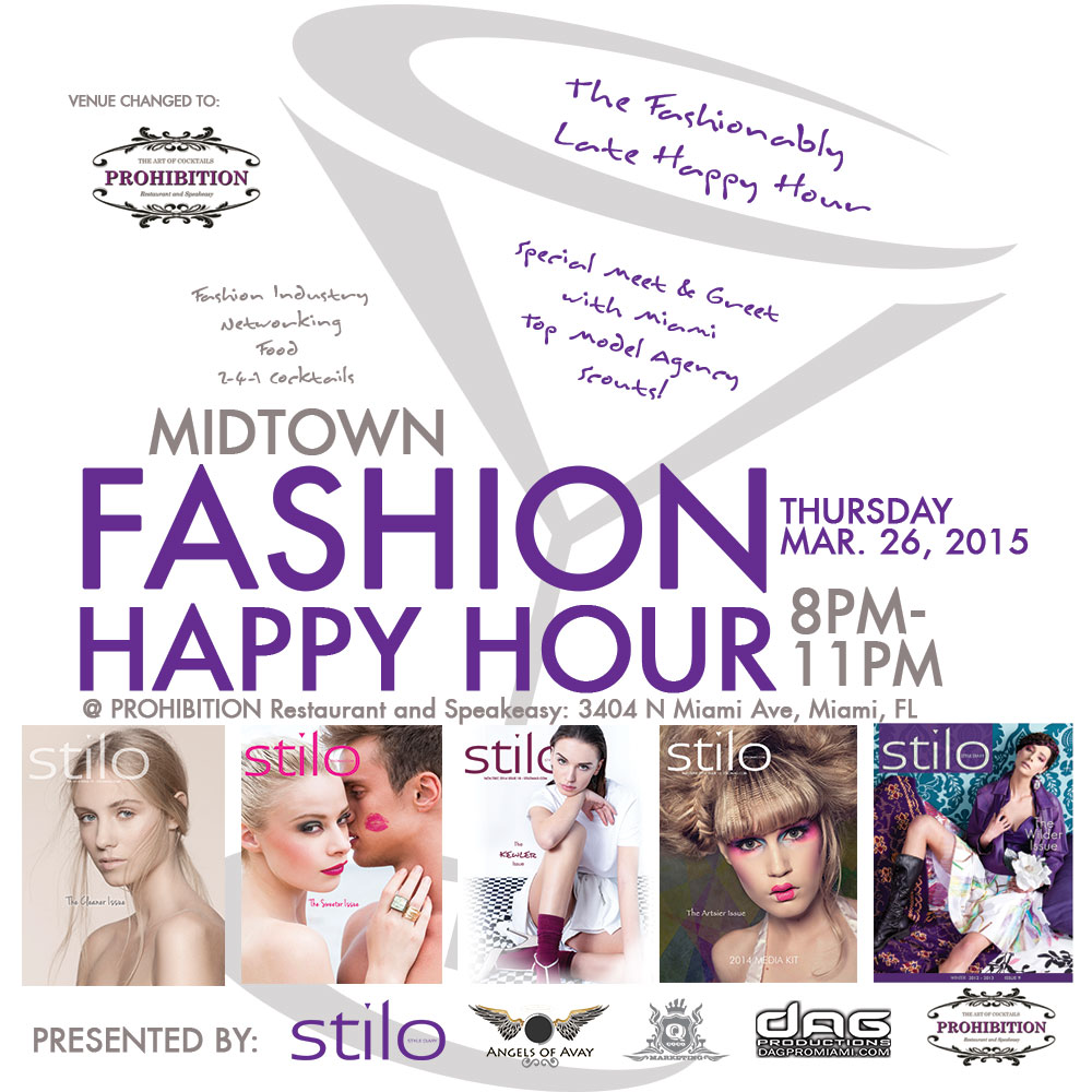 Midtown Fashion Happy Hour at Prohibition