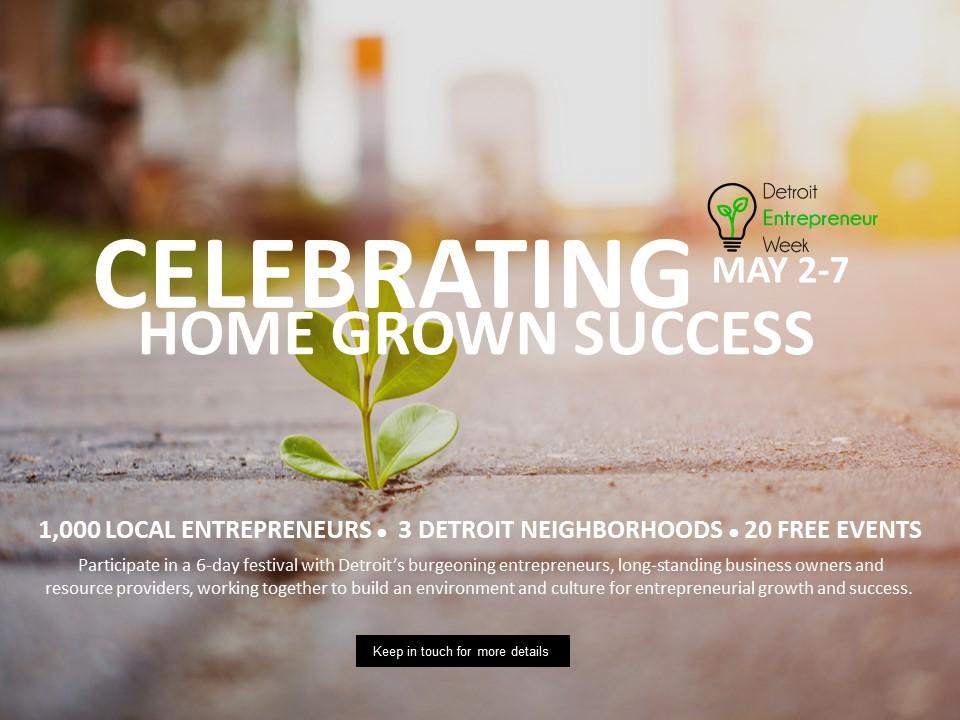 Detroit Entrepreneur Week 2016