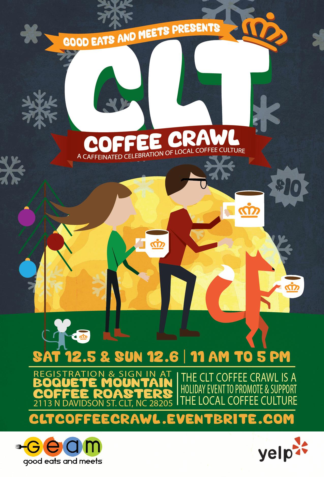 CLT Coffee Crawl
