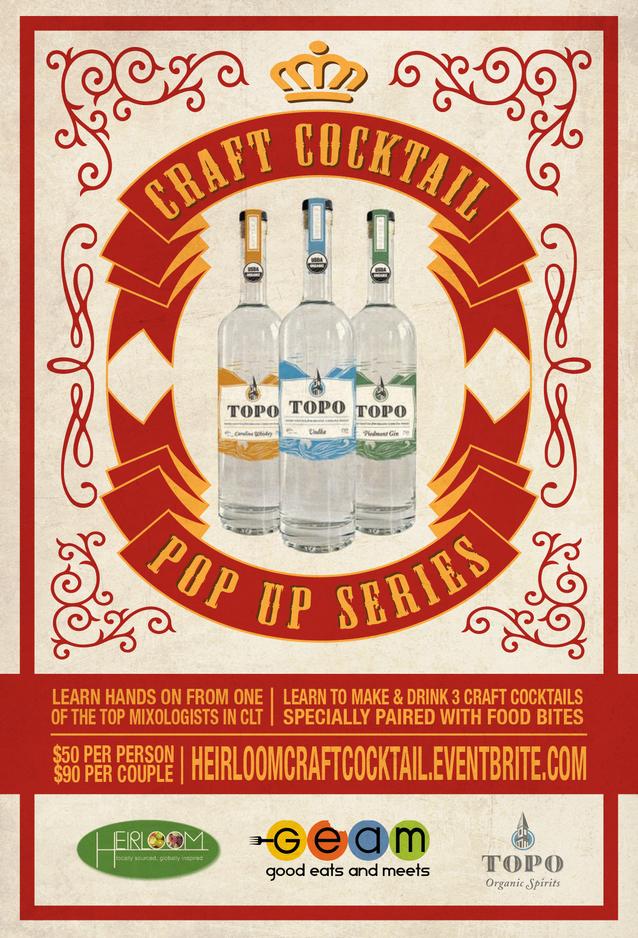 Craft Cocktail Heirloom