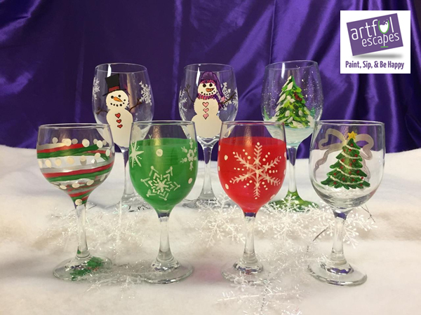 Winter Glassware