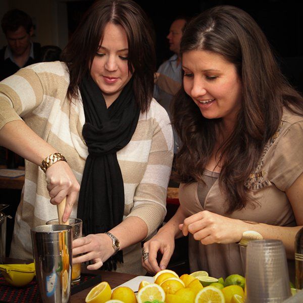 seasonal cocktail class at Boothby Center