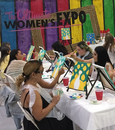 Atlanta Women's Expo, Complimentary DIY Art Workshops!