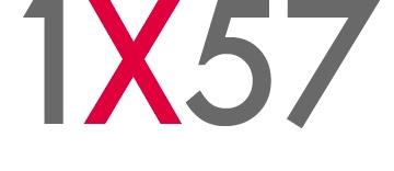1X57 Logo