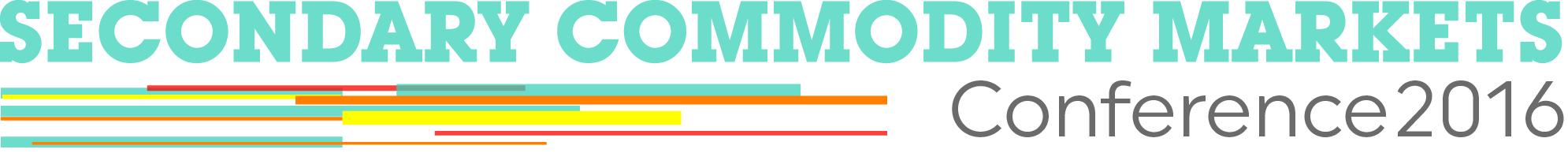 Secondary Commodity Markets 2016 logo