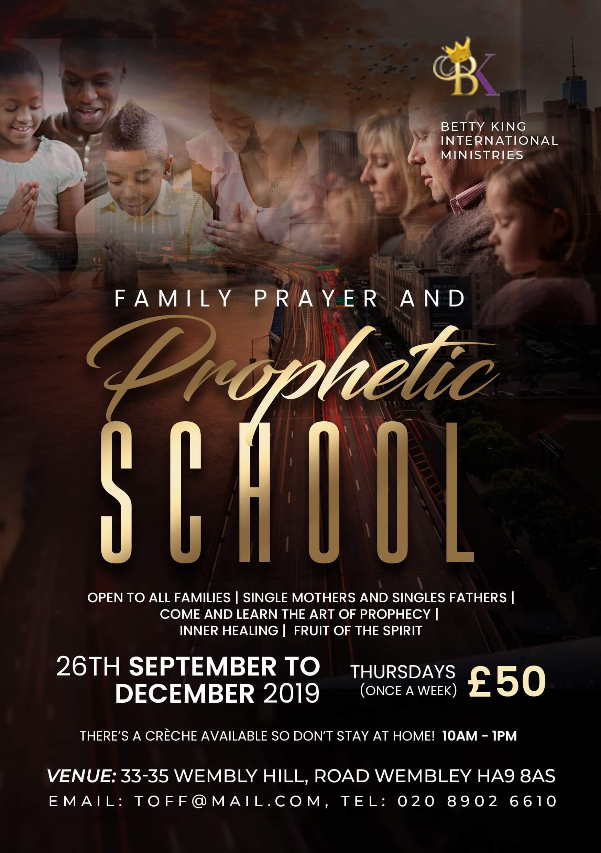 BKIM Family Prayer and Prophetic School