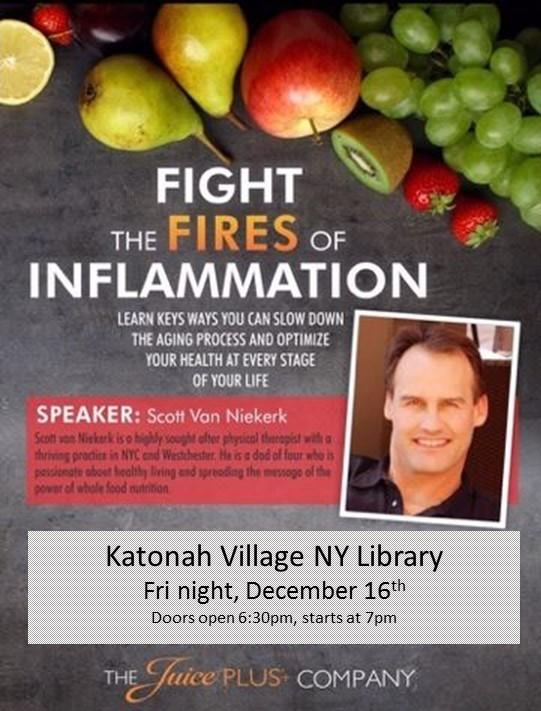 Inflammation Talk Katonah