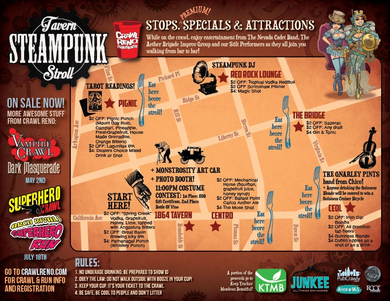2015 Steampunk Map
