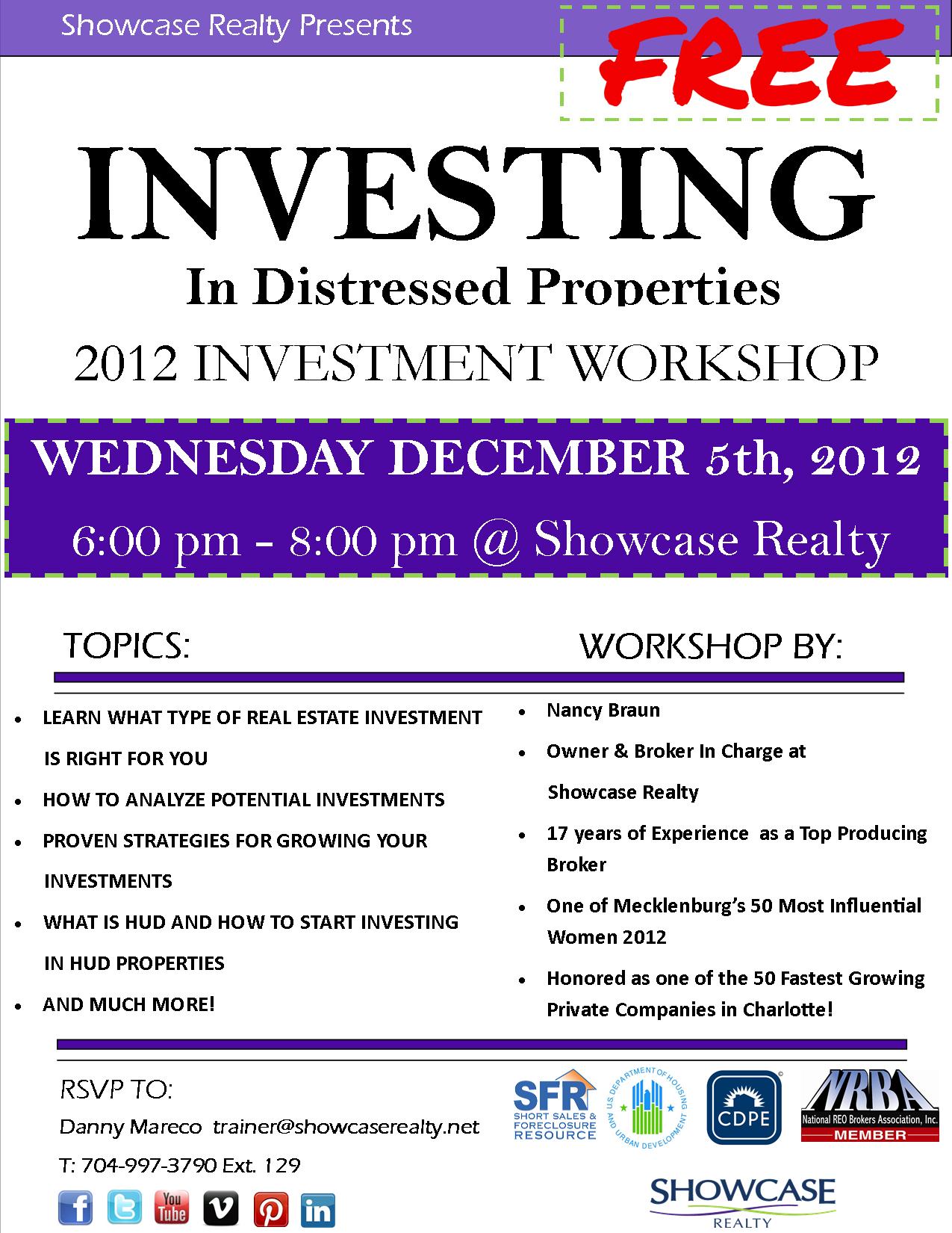 Investment Workshop