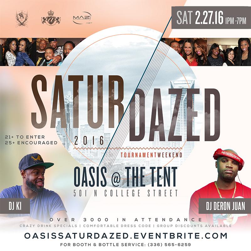 Saturdazed 2016- DJs