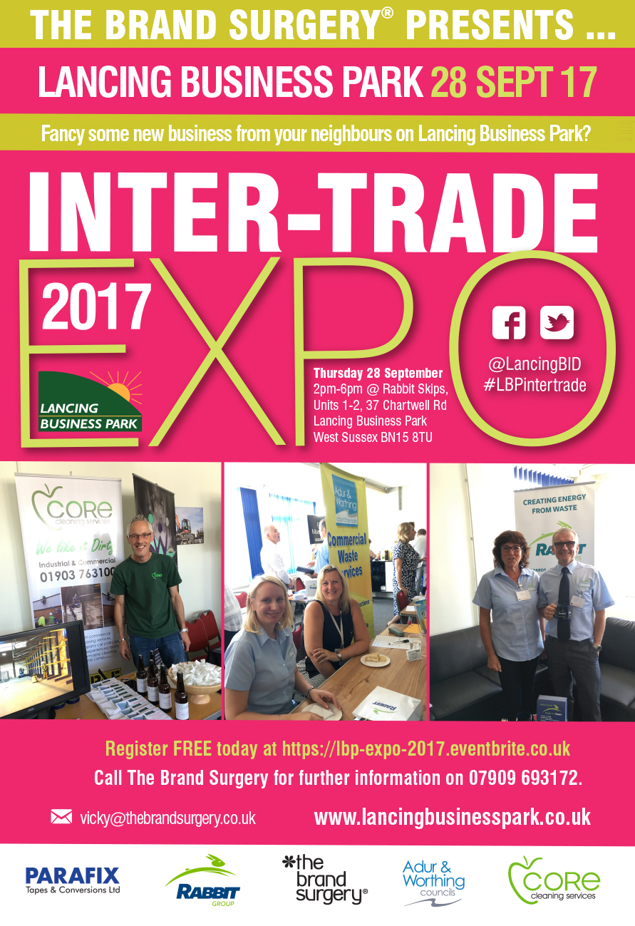 Lancing Business Park intertrade expo 2017