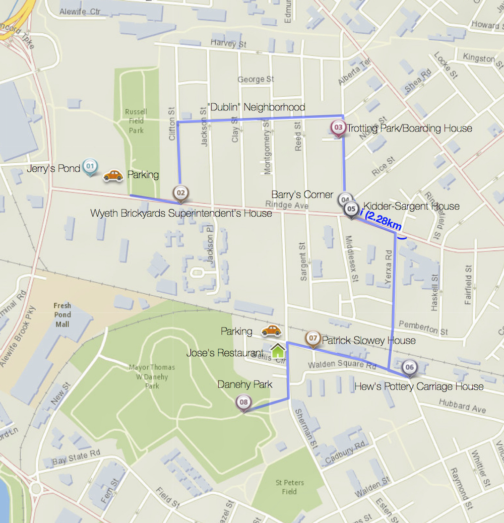 Walking Tour Map