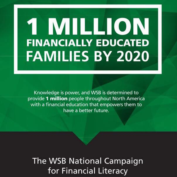 1M Financially Educated Families by 2020