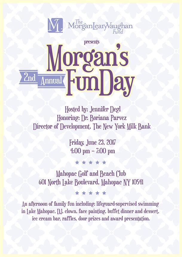 Morgan's FunDay 2017 Invitation