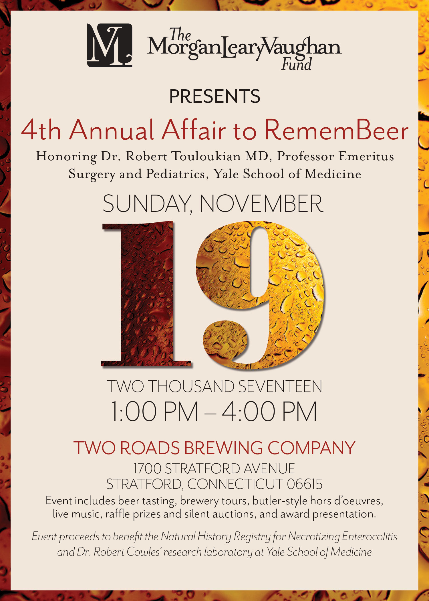 4th Annual Affair to RememBeer Invitation