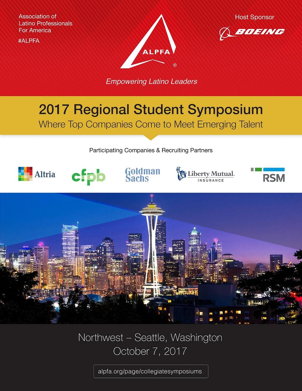 ALPFA Northwest Regional Student Symposium