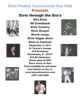 Elvis Through The Era's
