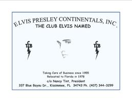Elvis Presley Continentals Annual Halloween Party