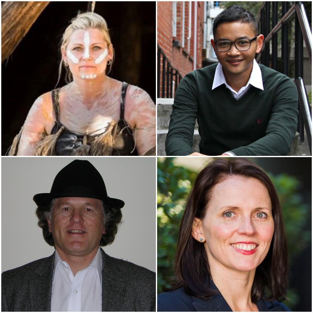 Photo of speakers for Geelong event