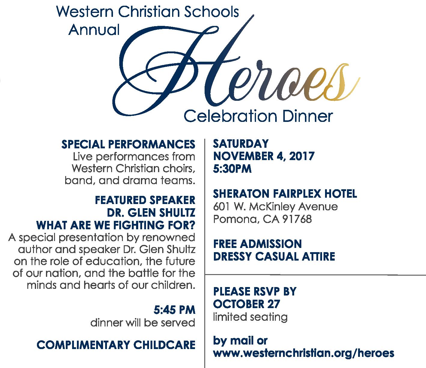 2017 Heroes Dinner