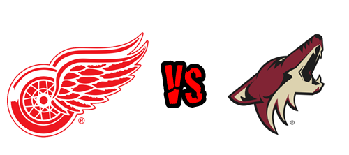 Red Wings Vs Coyotes