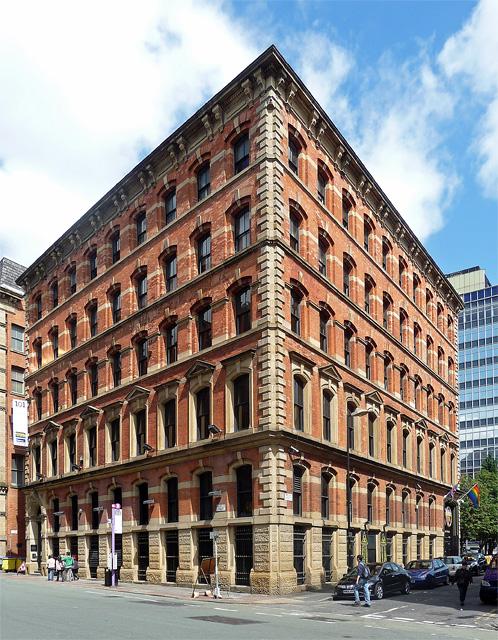 Manchester Palazzo warehouse