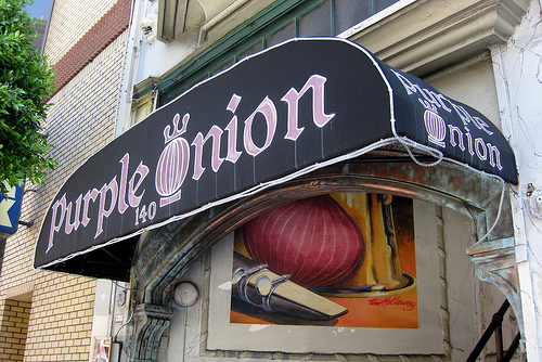 Corporate Comedy at the Purple Onion