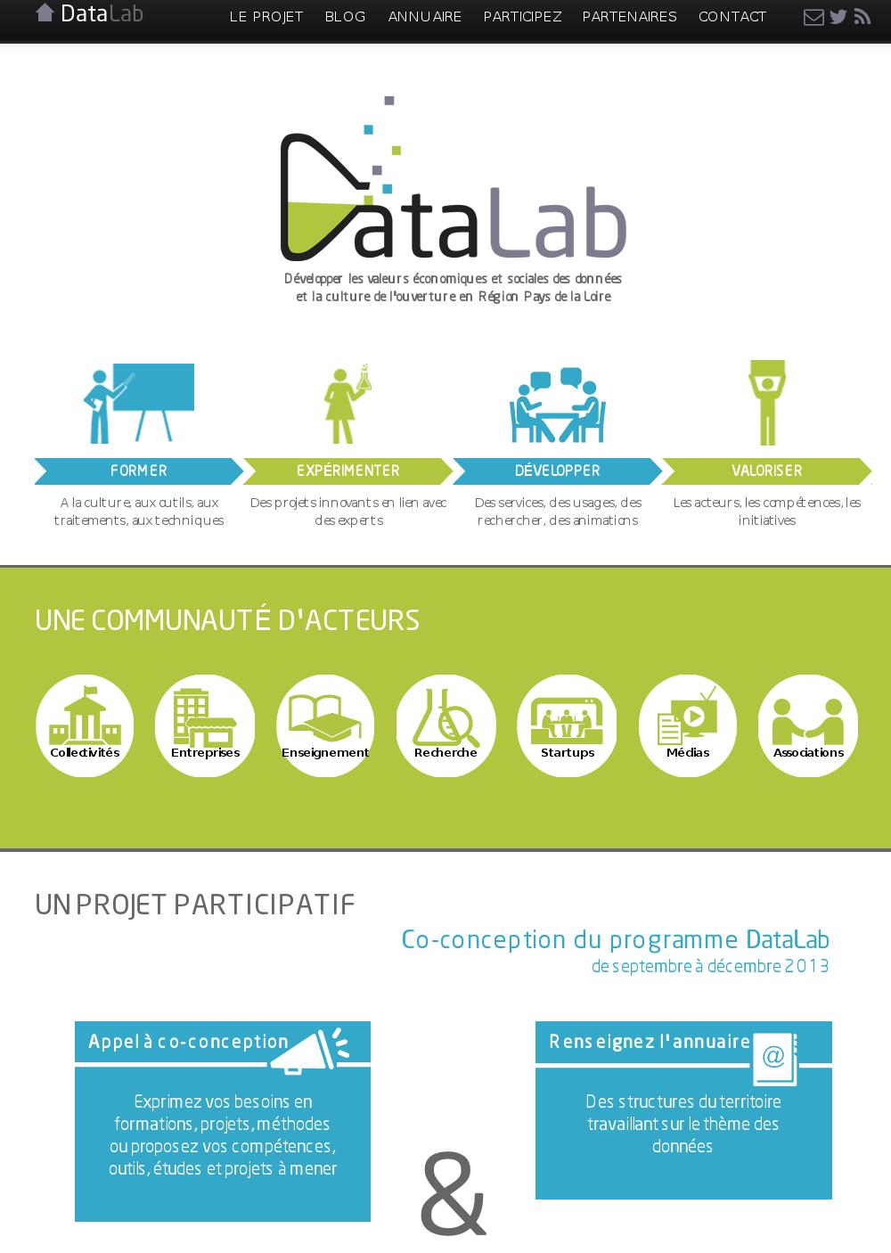 Site web www.datalab-paysdelaloire.org