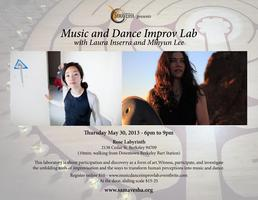 Music and Dance Improv Lab with Laura Inserra and Mihyun Lee