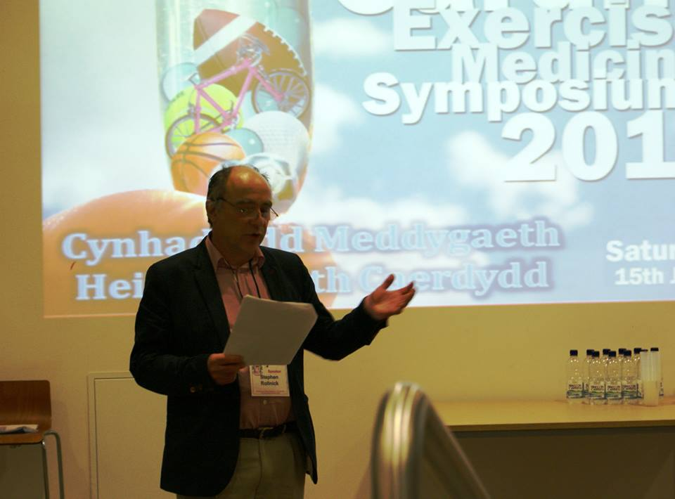 Prof Steven Rollnick at the 2013 Symposium