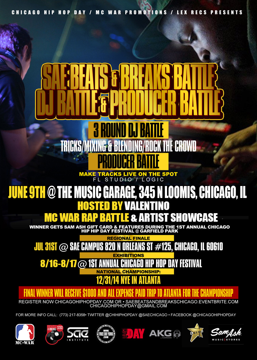 SAE BEATS & BREAKS CHICAGO