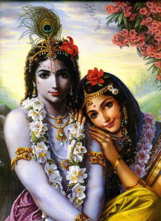 The Divine Couple - Radha Krishna