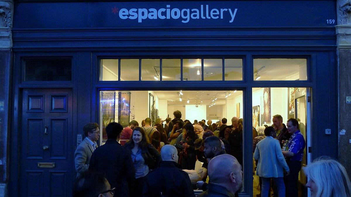 Blue Patch at Espacio Gallery 2018
