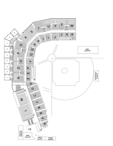Sioux Falls Stadium Map