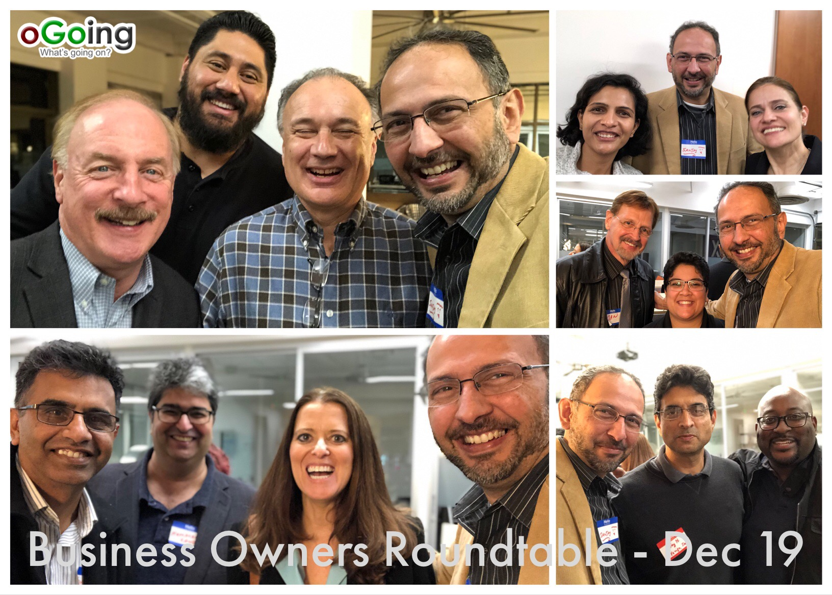 Fun Times at Business Owners Roundtable by oGoing