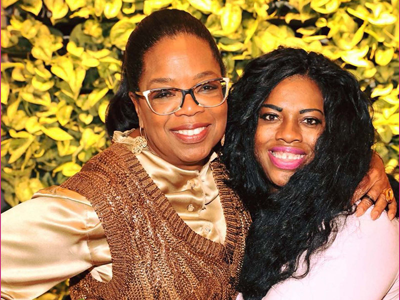 Oprah Winfrey and Nikki Rich