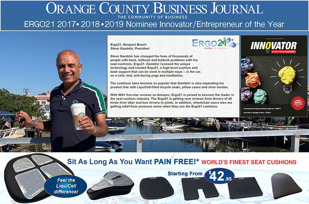 Steve Gambhir - Ergo21 Innovator, Entrepreneur