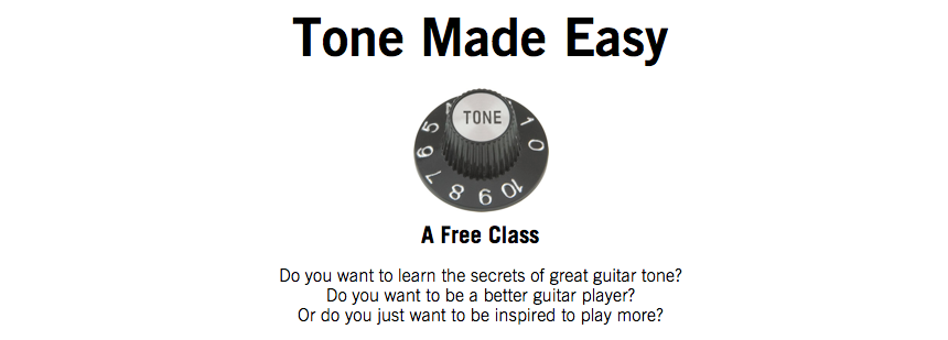 Tone Made Easy Header