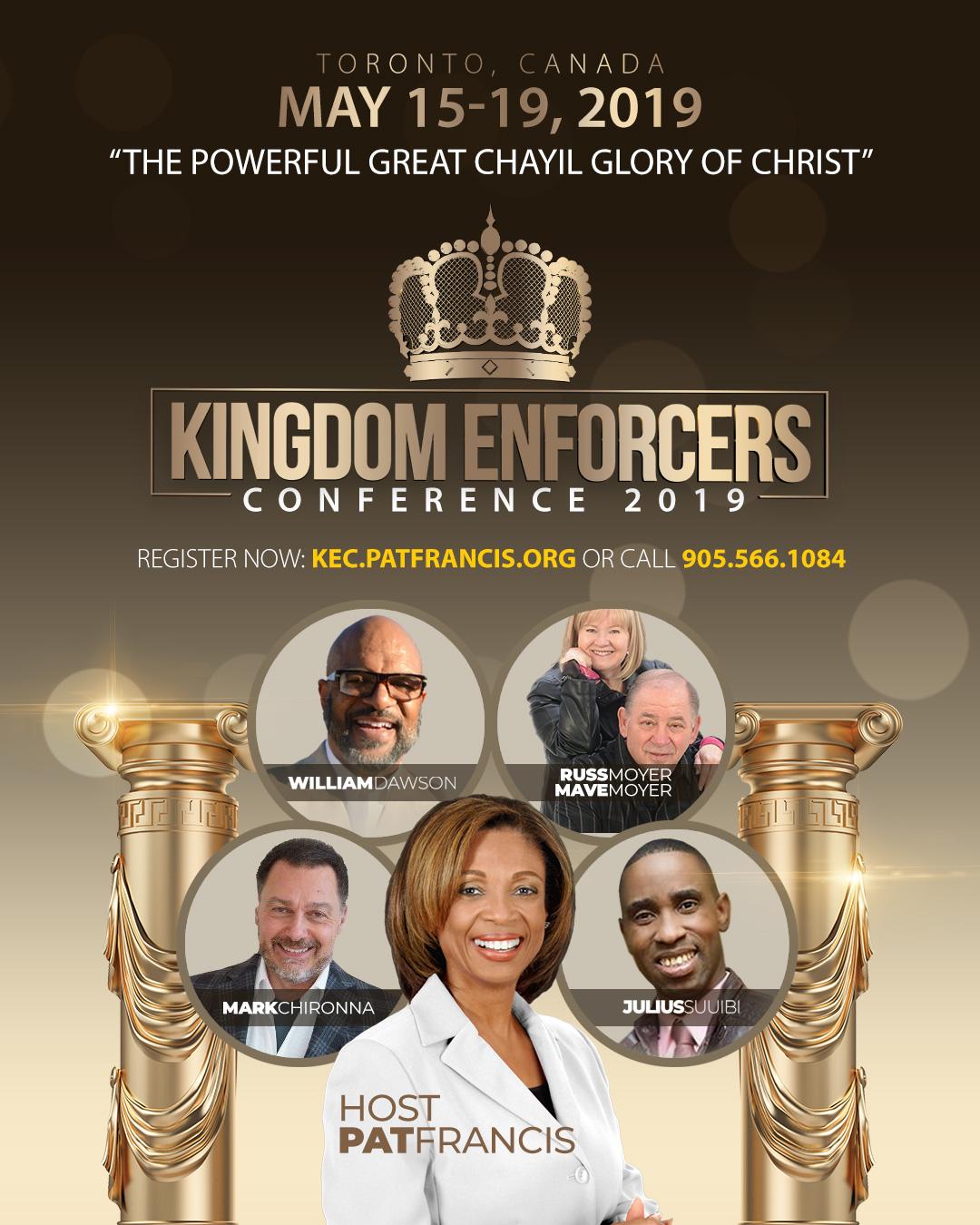 CHAYIL GLORY - KINGDOM ENFORCERS CONFERENCE 2019