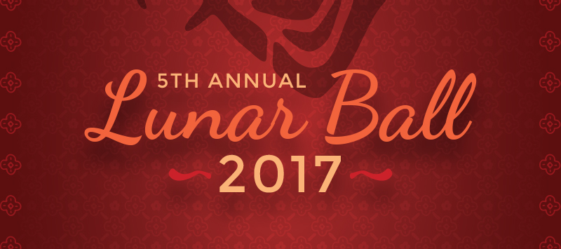 Lunar Ball 2017 Temporary Banner