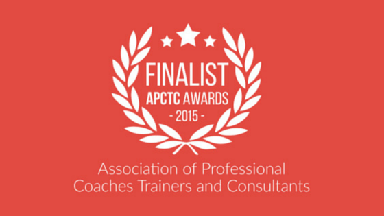 Shortlisted for Trainer of the Year 2015